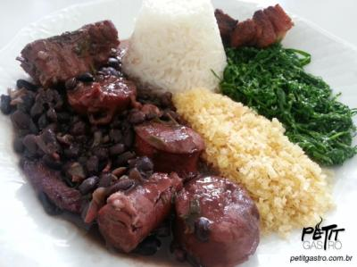 Traditional feijoada