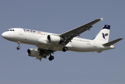 O ministro dos Transportes do Irã, a Airbus chefe reúnem-se em Paris