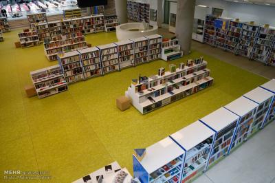 Grande centro de livros abre em Teerã