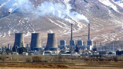 Irã de exportar eletricidade gerada pelo gás para cinco estados vizinhos.
