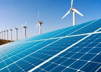 A energia eólica Solar para atender 10% das necessidades de energia do Irã
