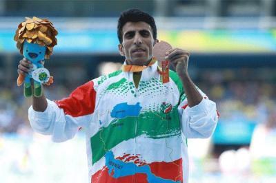 Nasiri do Irã ganha medalha de bronze nos Jogos Paraolímpicos Rio