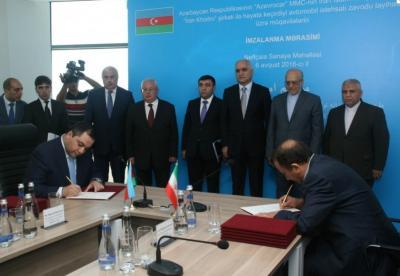 """Neftchala do Azerbaijão lança projeto de fábrica de automóveis em """"joint"""" Irã-Azerbaijão"""