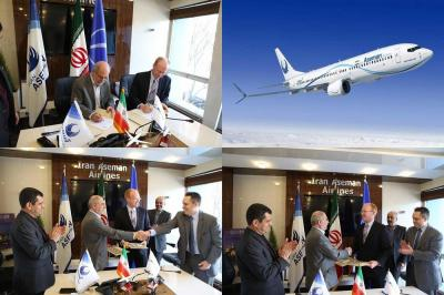 Boeing signs new $3 billion deal with Iran's Aseman Airlines