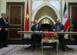 Irã, Vietnã tinta MOUs para impulsionar costumes, os laços comerciais