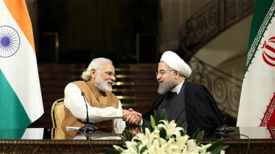 Iran and India signed the contract to develop Chabahar