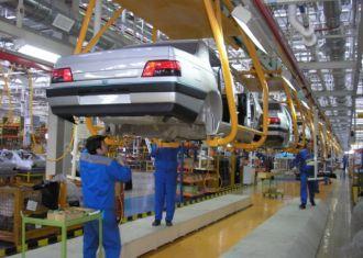 A produção de automóveis do Irã até 61,4% em 10 meses