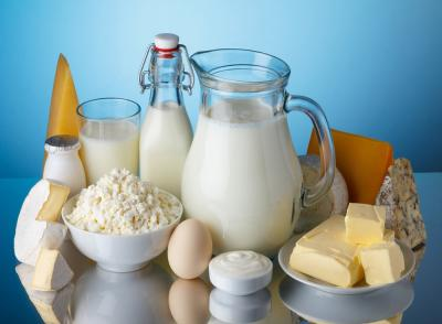 Exports of dairy products almost double