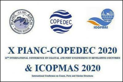 A 10ª edição da Engenharia Costeira e Portuária nos países em desenvolvimento (COPEDEC) Conferência será realizada no Irã em 2020