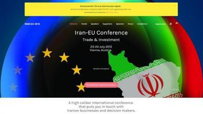 Viena sediará conferência investimento Irã-UE