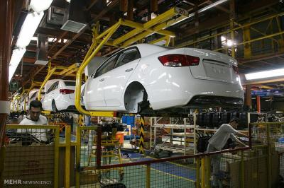 A produção de carros do Irã cresceu 9,8% em 2,5 meses