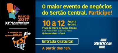 11ª Feira de Negócios e Festival de Leite de Quixeramobim