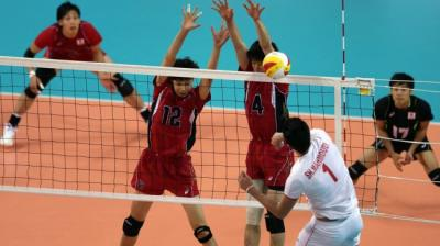 Iran volleyball players win 2014 Asian Games gold