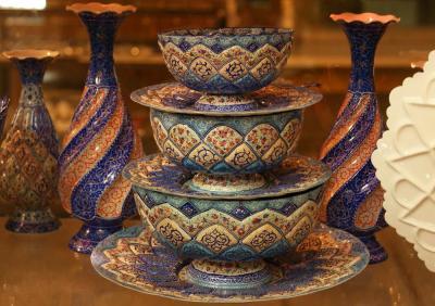 Exposição de tapetes do Irã dedica seção ao artesanato