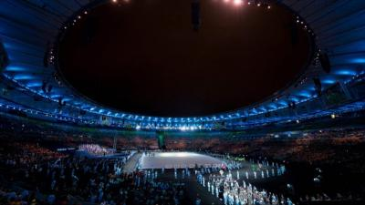 Opening of the Paralympic Games in Rio de Janeiro