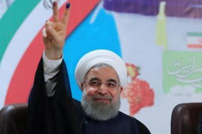 Rouhani secures second term with landslide victory