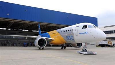 Embraer aguarda aprovação dos EUA para vendas de avião ao Irã