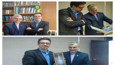 Irã e o Brasil apostam em desenvolver amplas atividades culturais
