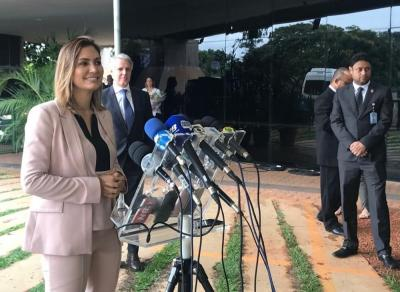 Michelle Bolsonaro says she wants to participate in 'all possible social projects'