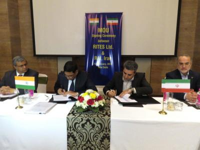 Iran signs MoU with India to buy 200 locomotives