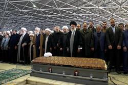 Irã realiza cerimônia fúnebre para Rafsanjani