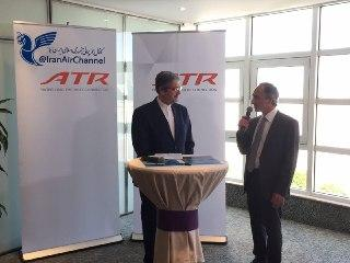 France officially delivers 4 ATR72-600 planes to Iran
