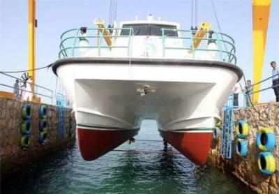 Iran delivers its 1st domestically built catamaran sailboat to Turkey