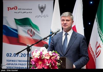 Rússia começa a trabalhar para eletrificar ferrovia no Irã