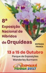 8ª Exposição Nacional de Híbridos de Orquídeas