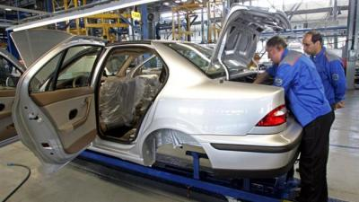 Iran's auto production up by over 60%