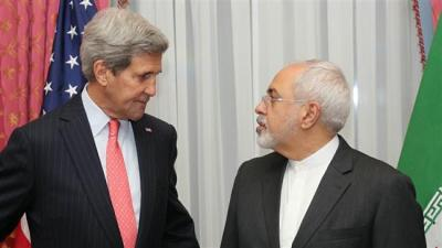 Zarif, Kerry end first round of nuclear talks in Lausanne