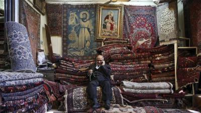Irã exportou $ 60.000.000 no valor de tapetes em 4 meses.