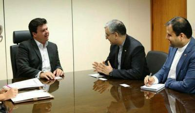 Iran, Brazil Discuss Cooperation on Refinery Construction