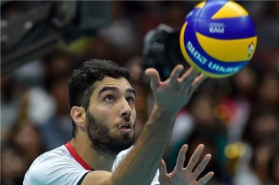 Mousavi do Irã perde semana de abertura da Liga Mundial de Voleibol - FIVB
