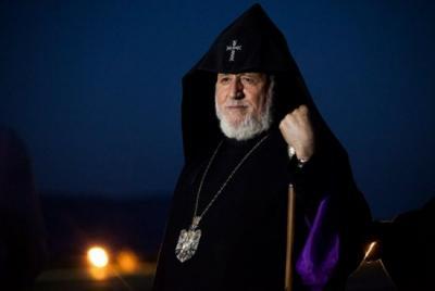 O líder mundial dos armênios oferece suas condolências às vítimas do terremoto no Irã