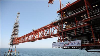 Operações de carga da plataforma da fase 21 de campo de gás de South Pars começam na próxima semana