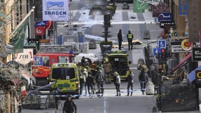 Brasil condena atentado em Estocolmo