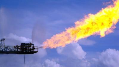 País terceiro a queima de gás do Irã mundo.