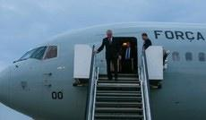 President arrives in Germany for G20 Summit