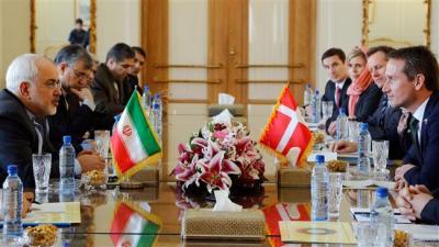 Ministro dos Relações Exteriores dinamarquês está no Irã para intercâmbio econômico com Teerã
