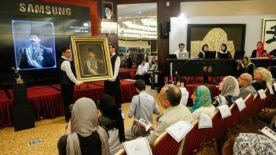 Sohrab Sepehri's painting sold for $845K at 4th Tehran Auction