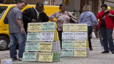 Em 2015, um milhão e meio de pessoas no Brasil perderam seus empregos