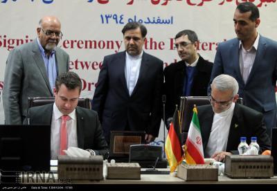 Alemanha assina um memorando de entendimento de cooperação ferroviária com o Irã