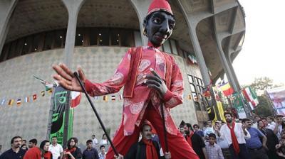 Teerã abre 15 Mobarak Intl. Puppet Theater