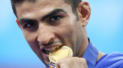 Iran wushu artists come 2nd at Sanda World Cup
