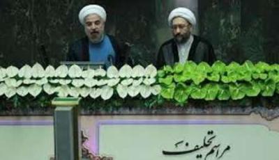 Presidente eleito Hassan Rouhani presta juramento em agosto