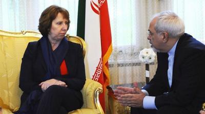 Zarif do Irã, Ashton UE atender à frente de negociações nucleares