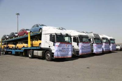 1º embarque do carro iraniano chega a Guiné-Conacri