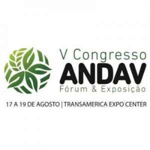 V Congress ANDAV - Forum & Exhibition,17-19 August,2015,Sao Paulo,Brazil.