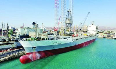 Foi lançado 3ª navio porta- containers totalmente iraniano